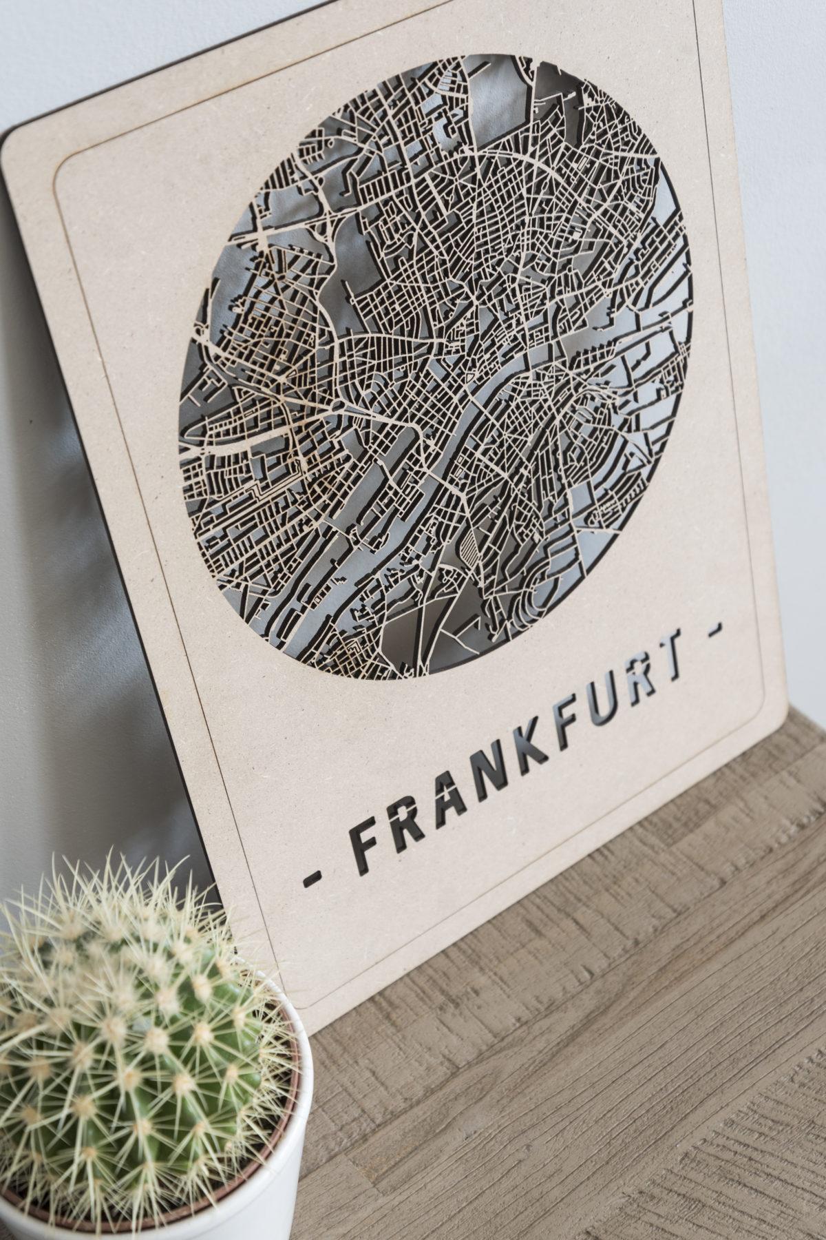 Citymap Frankfurt