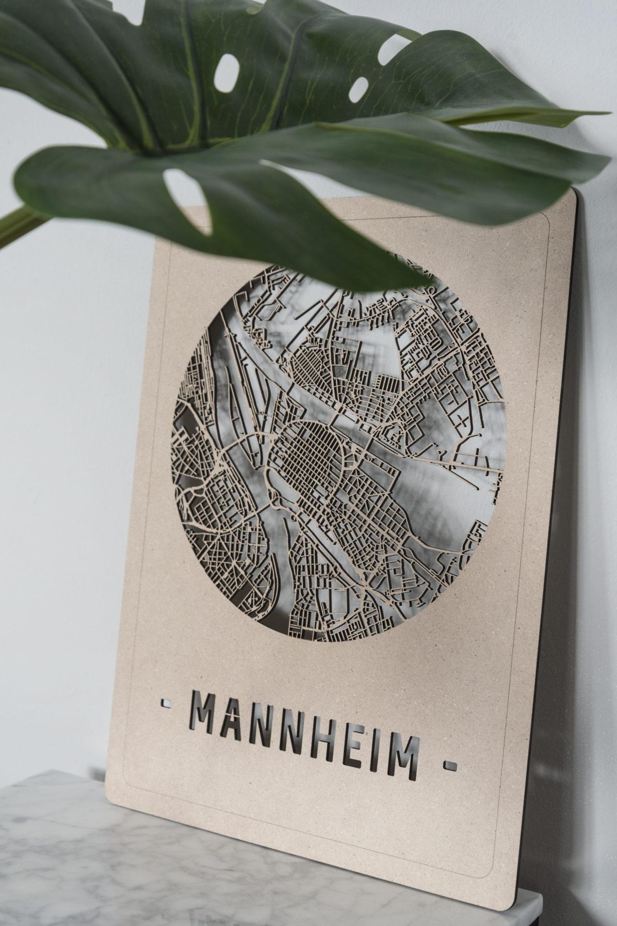 Citymap Mannheim