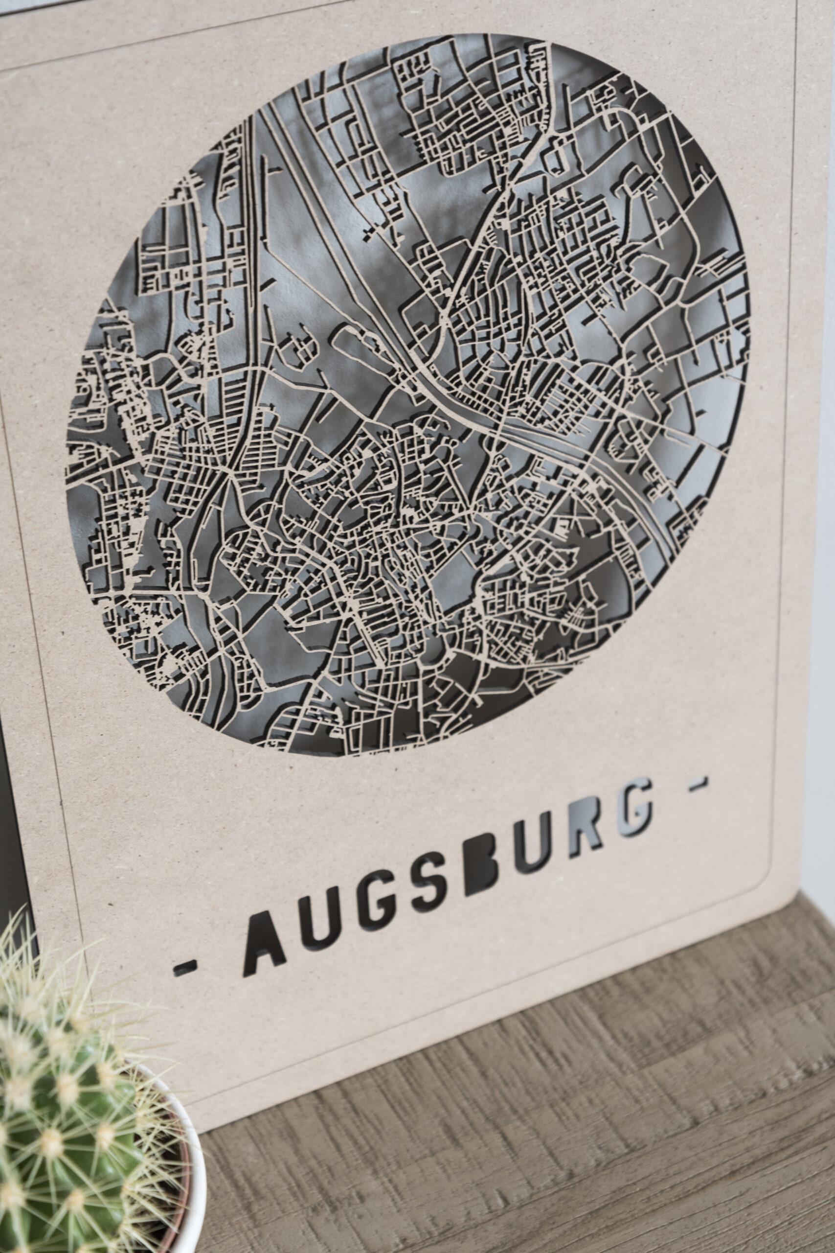 Citymap Augsburg
