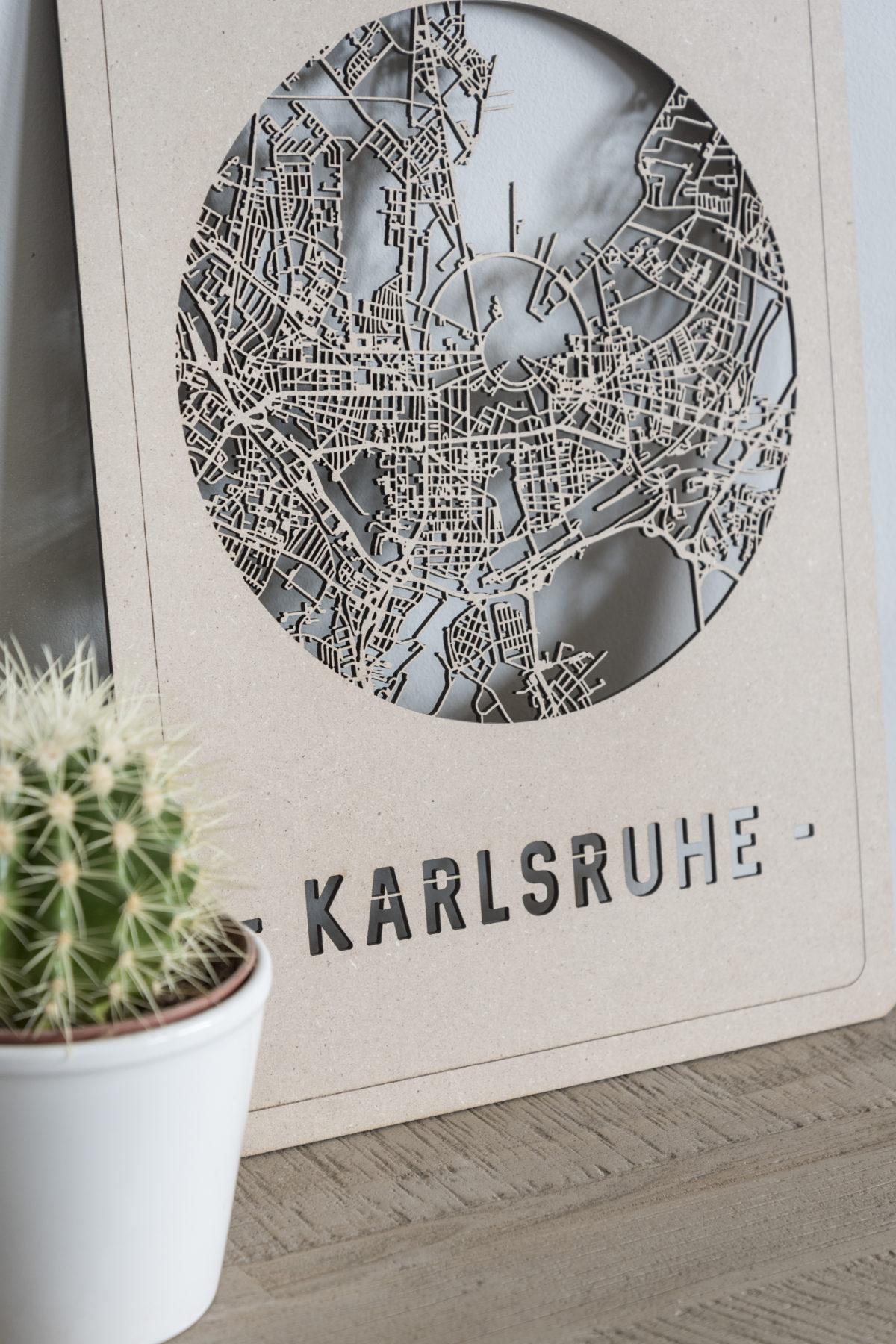 Citymap Karlsruhe