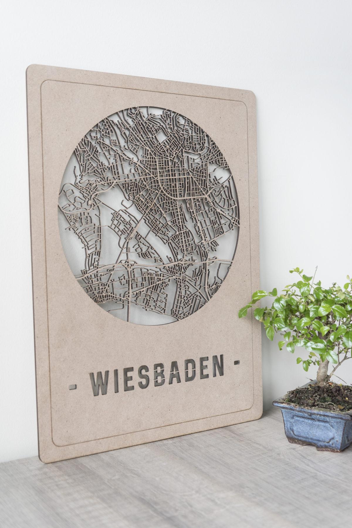 Citymap Wiesbaden