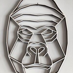 geometrischer Gorilla
