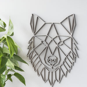 geometrischer Wolf
