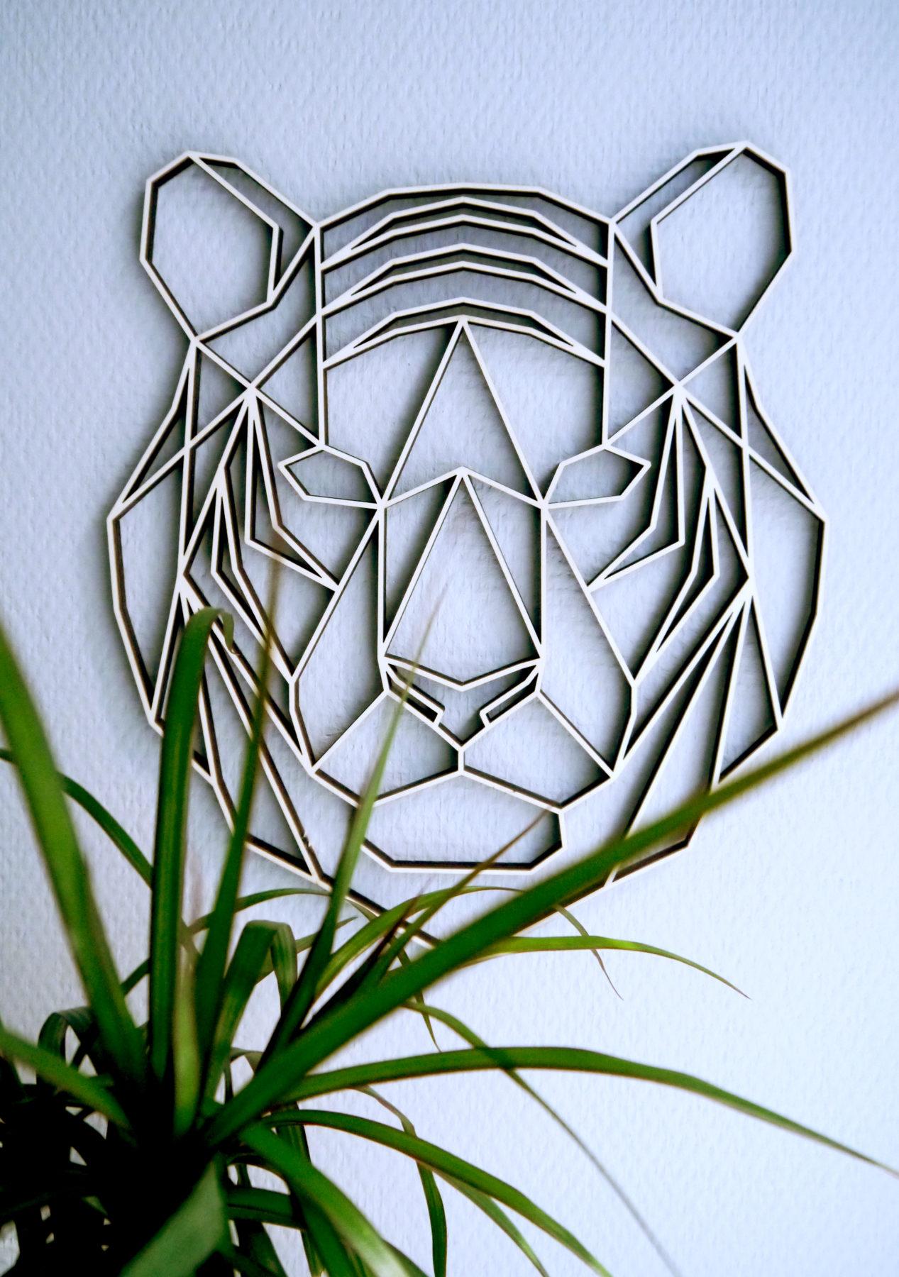 geometrischer Tiger